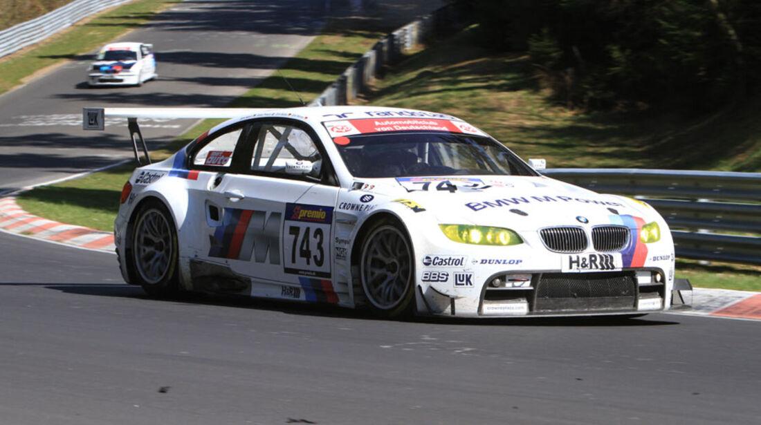 VLN 3.Lauf Langstreckenmeisterschaft Nürburgring BMW Motorsport, Dirk Werner, Dirk Müller, Andy Priaulx, Dirk Adorf,  24-04-2010