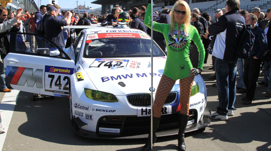 VLN 3.Lauf Langstreckenmeisterschaft Nürburgring BMW Motorsport, Jörg Müller, Augusto Farfus,Pedro Lamy, 24-04-2010