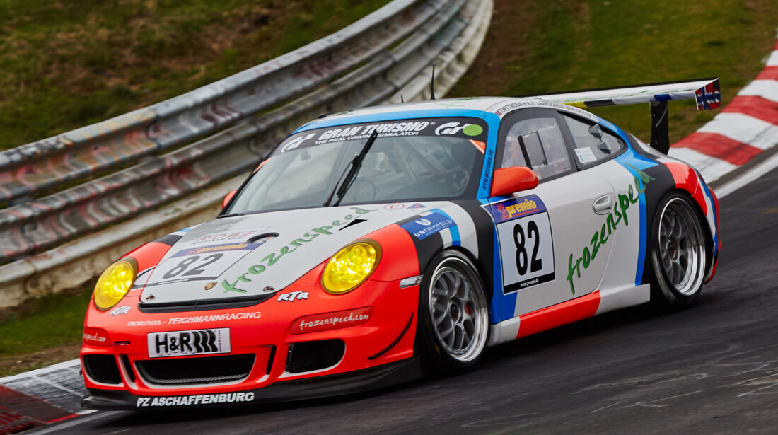 VLN - Langstreckenmeisterschaft - Nürburgring - Nordschleife - Porsche 997 CUP - #82