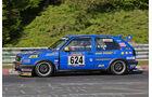 VLN Langstreckenmeisterschaft, Nürburgring, VW Golf GTI, H2, #624