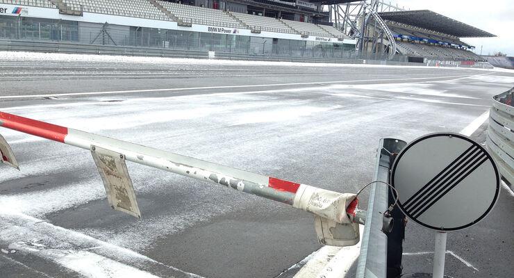 VLN Nordschleife Schnee Nürburgring