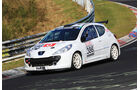 VLN - Nürburgring Nordschleife - Startnummer #386 - Peugeot 207 RC - SP2T