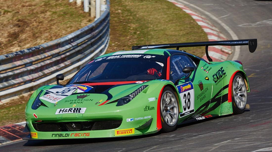 VLN2015-Nürburgring-Ferrari 458 Italia GT3-Startnummer #38-SP9