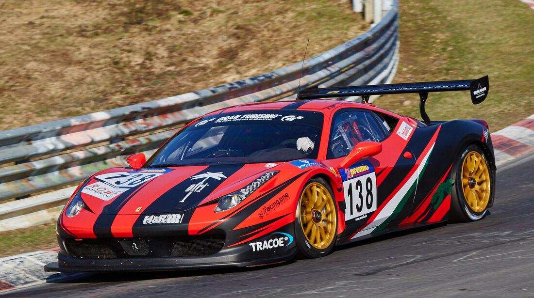 VLN2015-Nürburgring-Ferrari 458-Startnummer #138-SP8