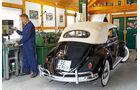 VW 1200 Cabrio, Heckansicht, Kiesewetter