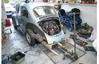 VW 1303 L Automatic-Restaurierung - Käfer-Heckansicht