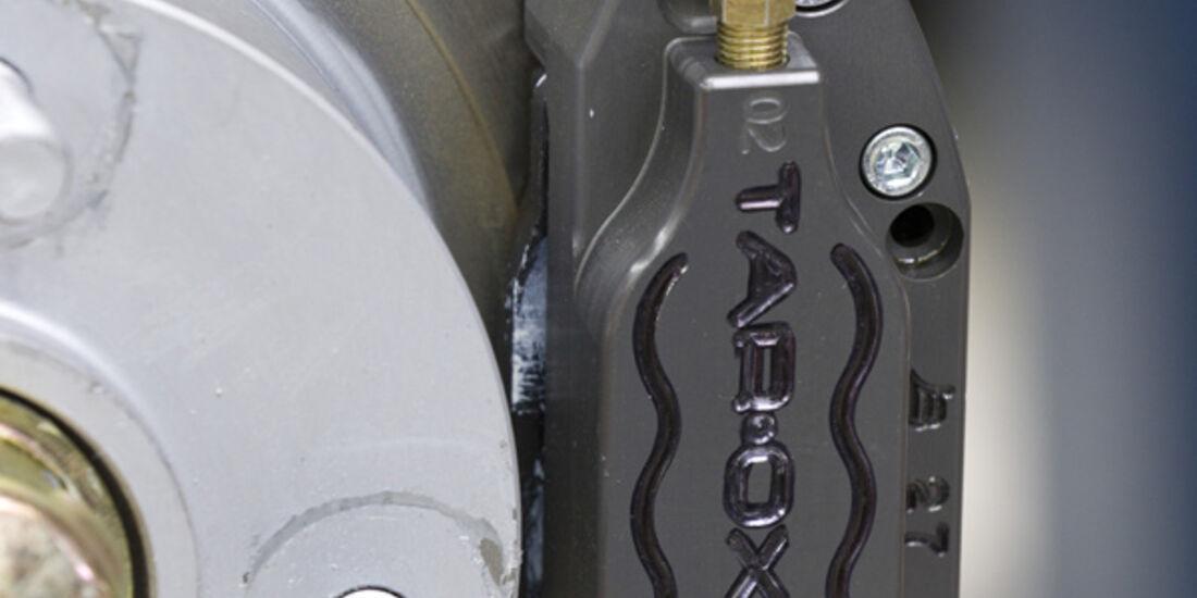 VW 1303 Rallye, Detail, Scheibenbremse