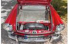 VW 1600 Typ 3, Kofferraum, Ersatzrad