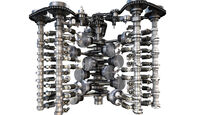 VW 6.0 W12 TSI Grundtriebwerk