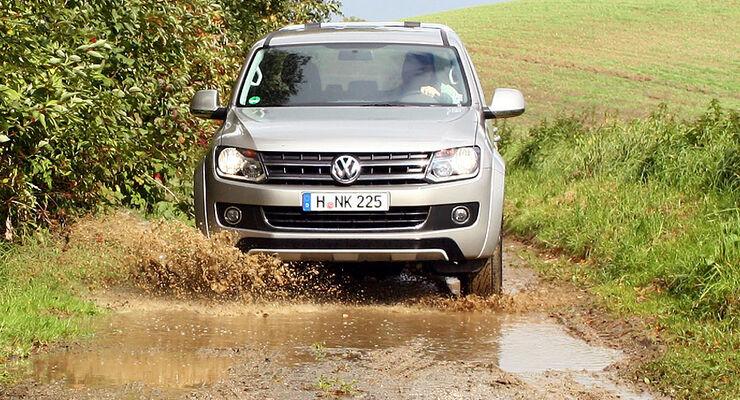 VW Amarok 2.0 TDI Doppelkabine Test