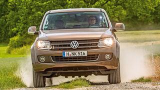 VW Amarok Double Cab 2.0 Bi TDi 4Motion BM T Highline, Frontansicht