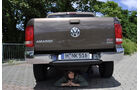 VW Amarok, Innenraum-Check, Heck