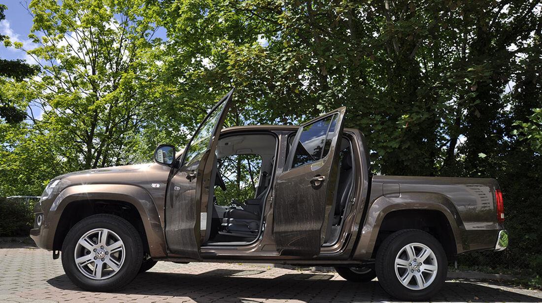 VW Amarok, Innenraum-Check, Seitenansicht
