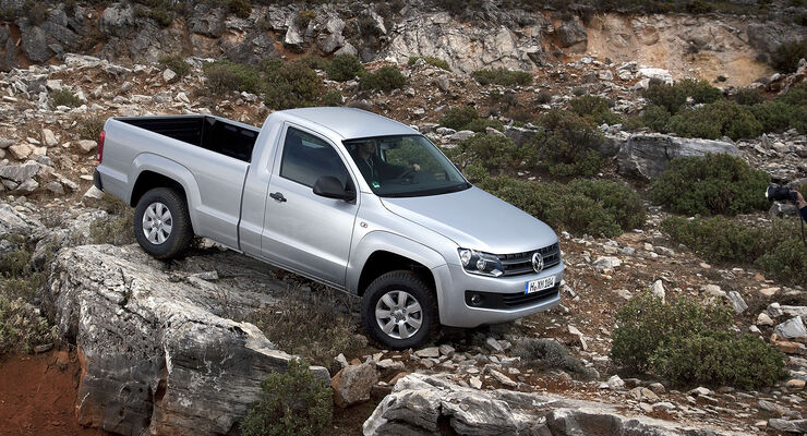 vw amarok single cab erster test mit dem neuen zweit rer. Black Bedroom Furniture Sets. Home Design Ideas