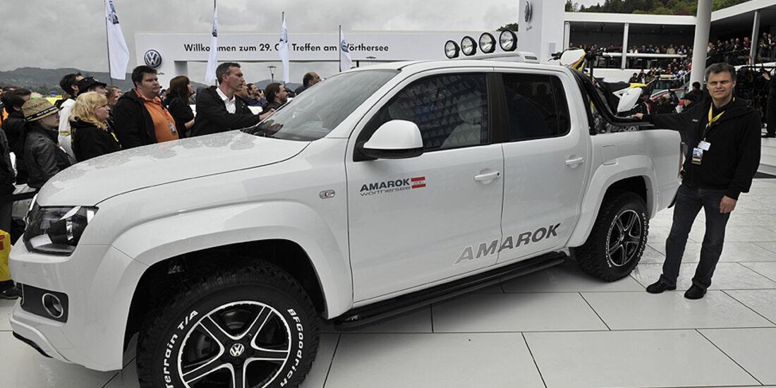VW Amarok Wörthersee GTI-Treffen, weiß
