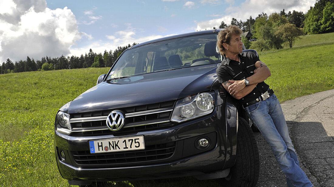 VW Amarok mit Peter Maffay