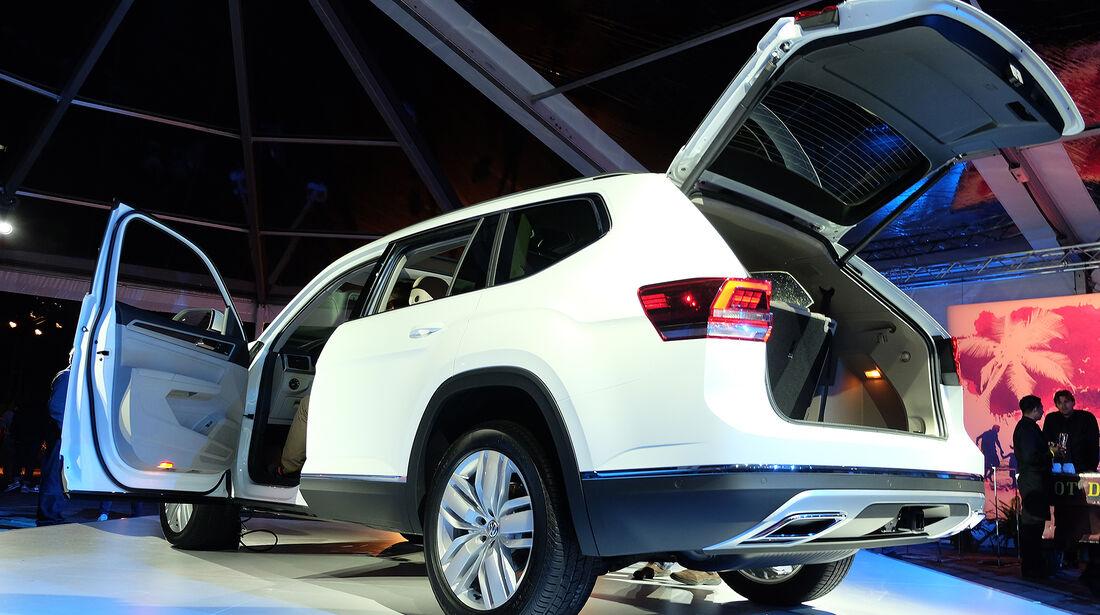 VW Atlas Midsize SUV USA Weltpremiere