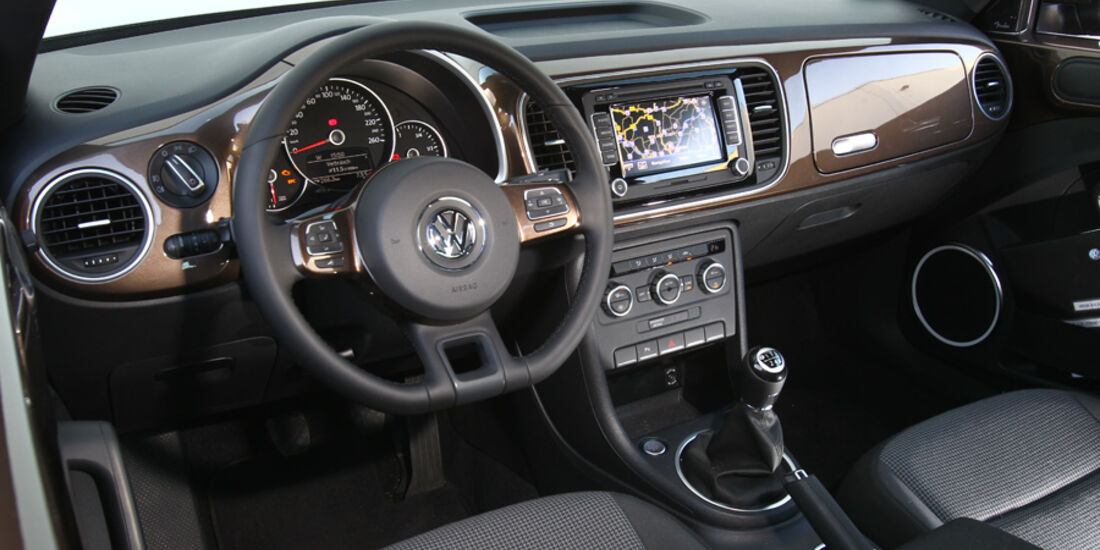 VW Beetle 1.2 TSI, Cockpit