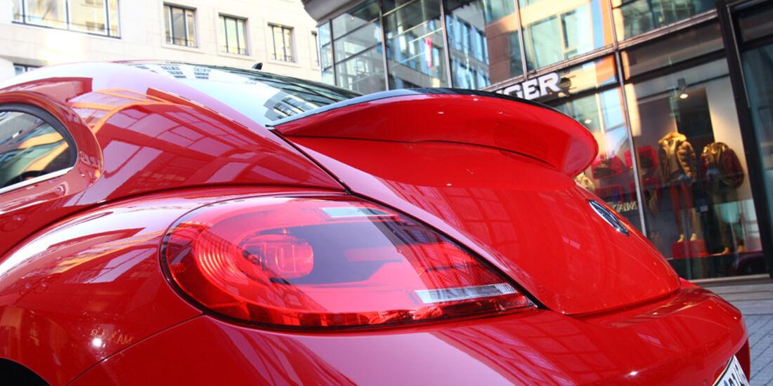VW Beetle 2.0 TSI, Heckspoiler