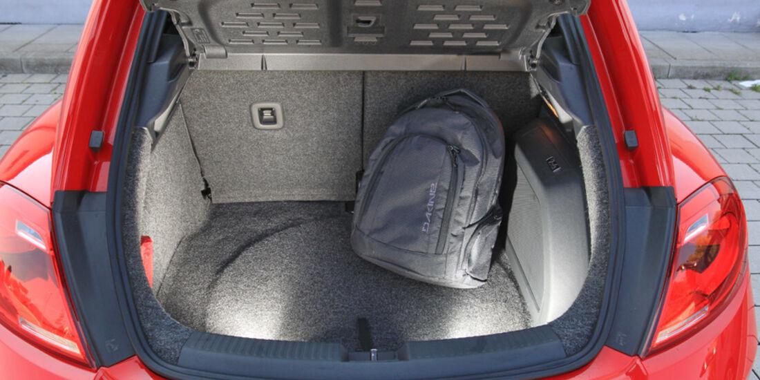 VW Beetle 2.0 TSI, Kofferraum