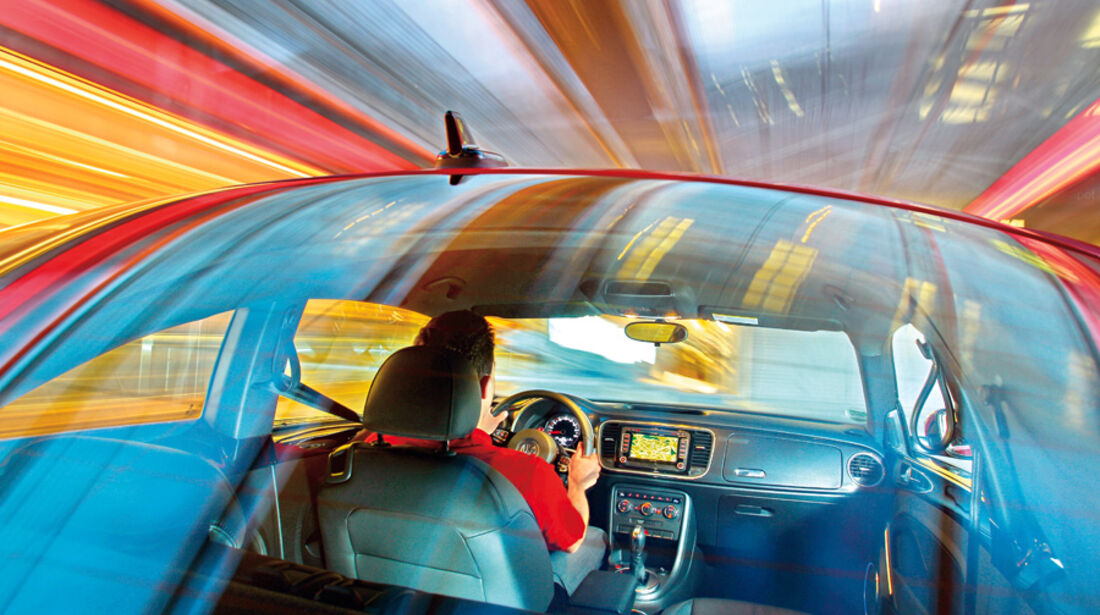 VW Beetle 2.0 TSI, Rückfenster