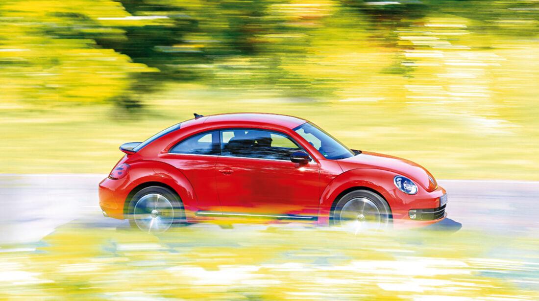 VW Beetle 2.0 TSI, Seitenansicht