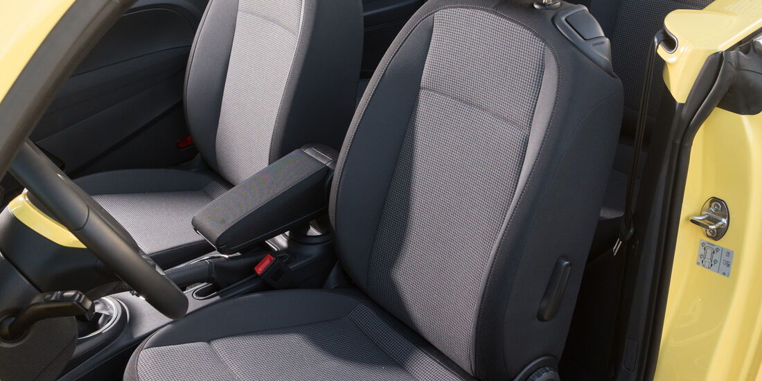 VW Beetle Cabrio 1.4 TSI, Sitze