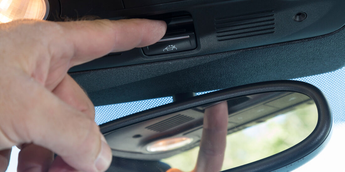 VW Beetle Cabrio, Bedienelement, Rückspiegel