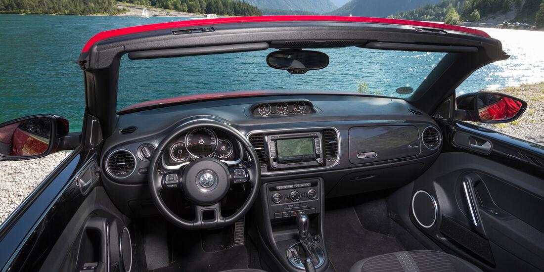 VW Beetle Cabrio, Cockpit