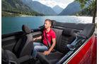 VW Beetle Cabrio, Rücksitz, Beinfreiheit