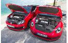 VW Beetle Cabrio, VW Golf Cabrio, Motoren