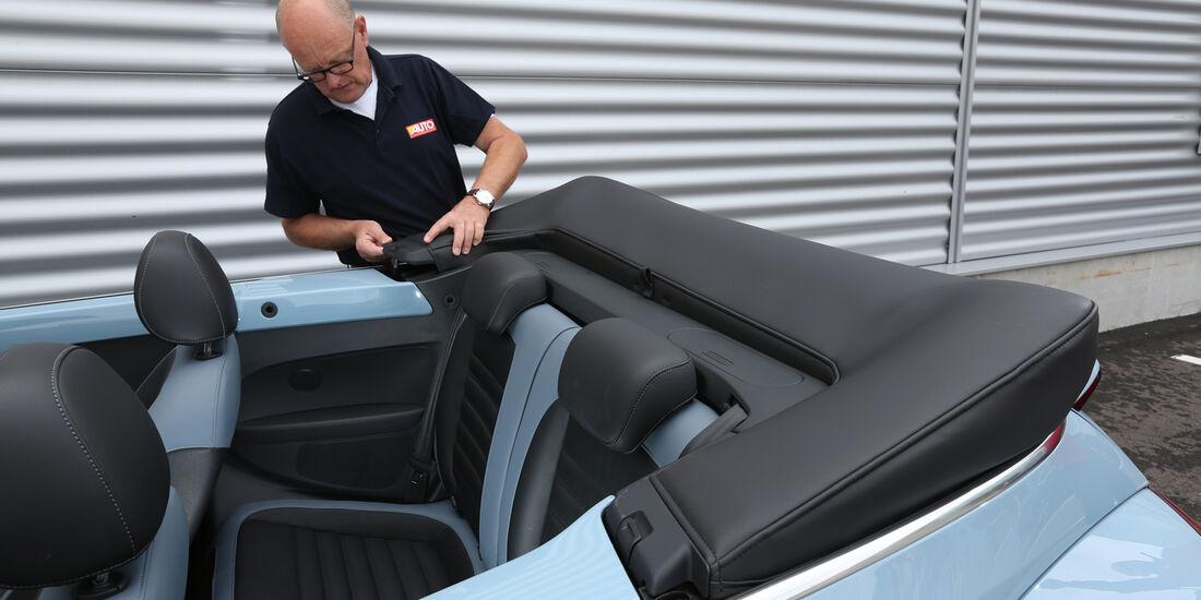VW Beetle Cabriolet 1.4 TSI Sport, Verdeck