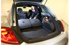 VW Beetle, Ladefläche, Rücksitz umklappen