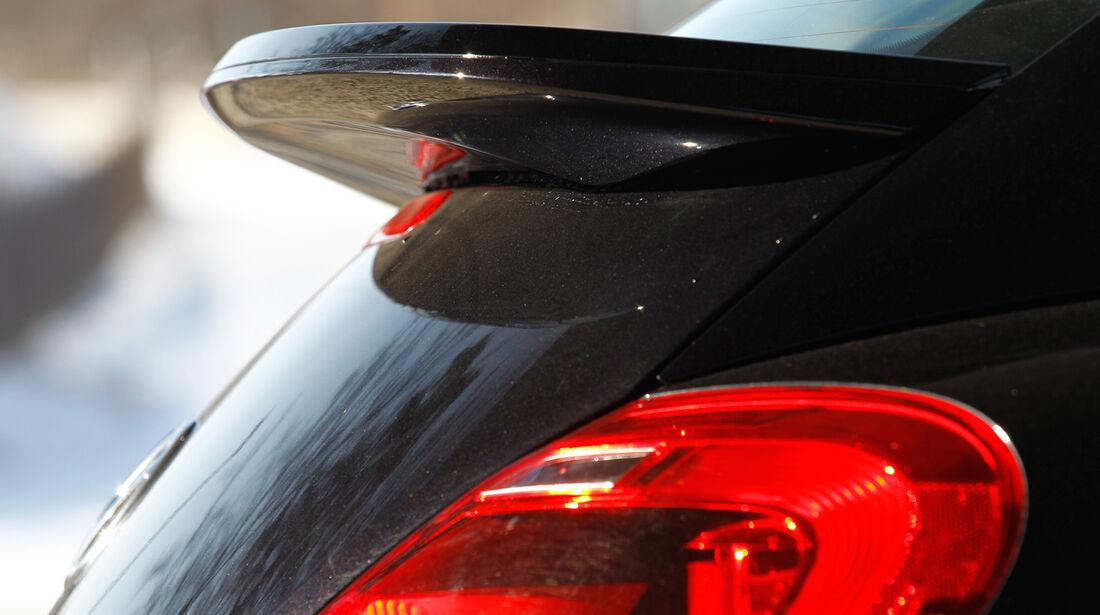 VW Beetle Sport, Heckspoiler