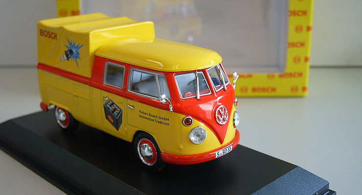 VW Bulli im Bosch Design