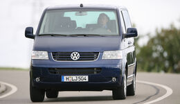 VW Bus T5 1.9 TDI Kombi, Frontansicht