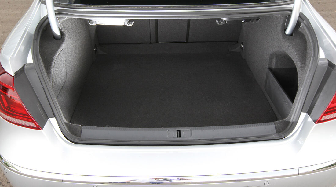 VW CC 1.8 TSI, Kofferraum