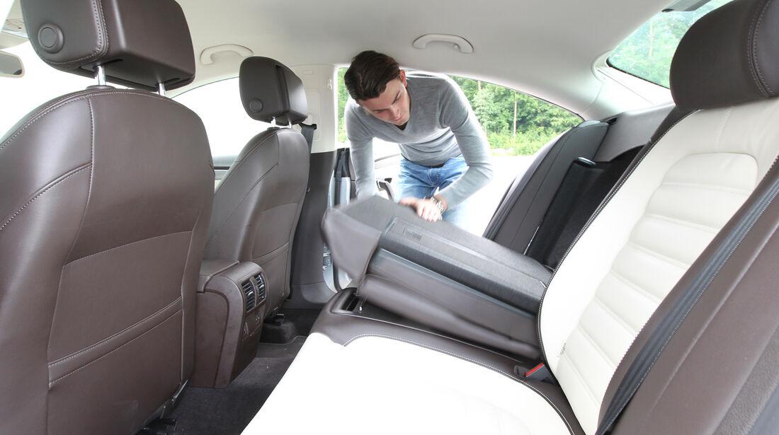 VW CC 1.8 TSI, Rücksitz, umklappen