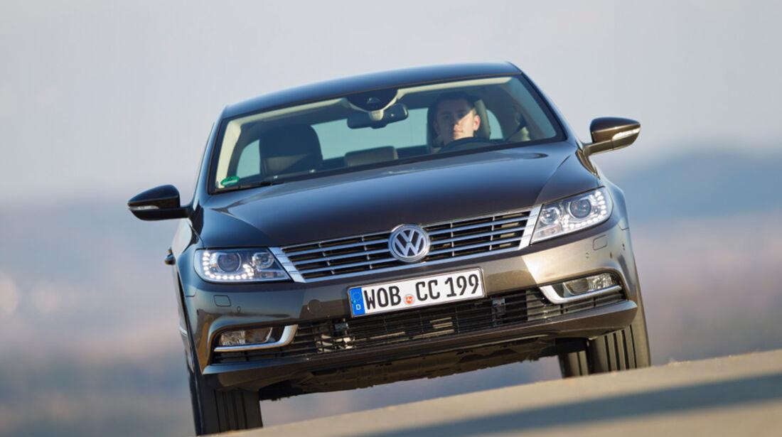 VW CC 2.0 TDI, Frontansicht