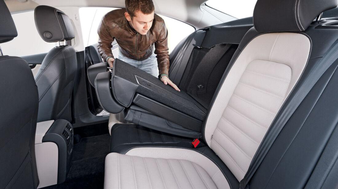 VW CC 2.0 TDI, Rücksitz, umklappen