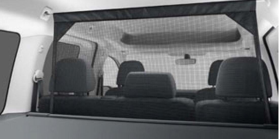 VW Caddy, Kopfstützen