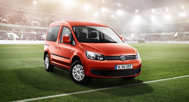 VW Caddy, Sondermodell Soccer