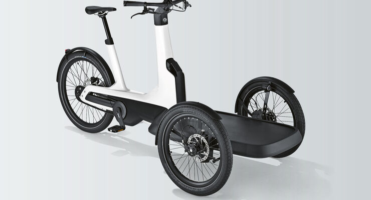 cargo e bike vw bringt elektro lastenrad auf den markt. Black Bedroom Furniture Sets. Home Design Ideas