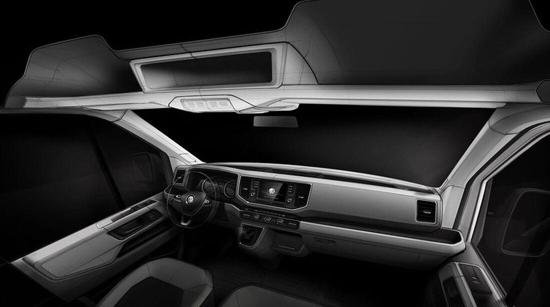 VW Crafter Innenraum