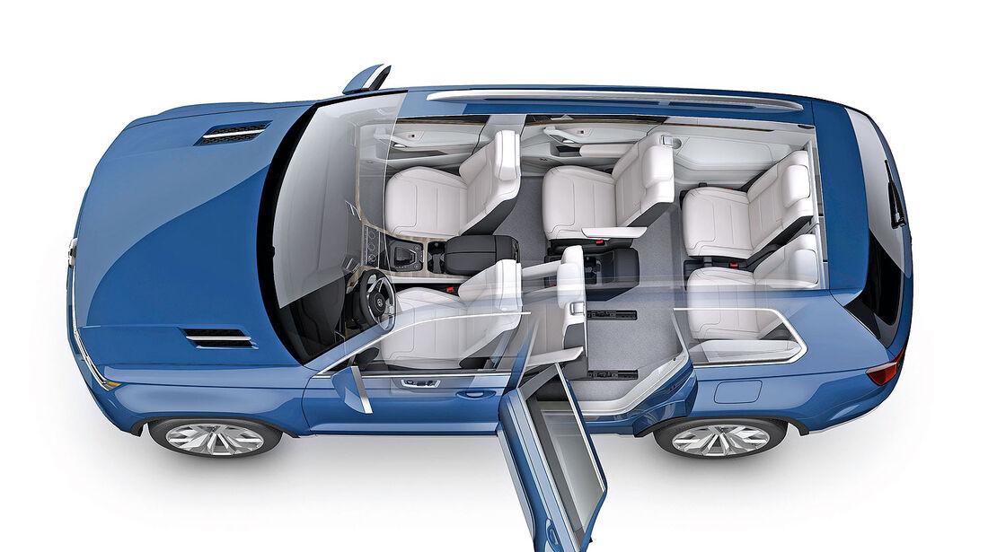 VW Cross Blue Tiguan XL