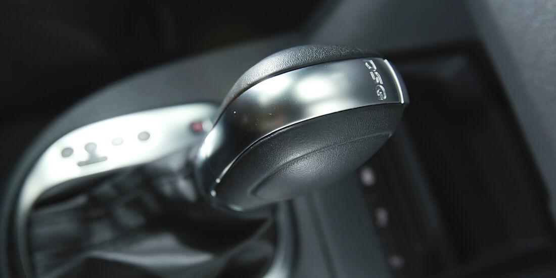 VW Cross Touran, DSG-Getriebe, Wählhebel