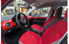 VW Cross Up 1.0, Cockpit, Sitze