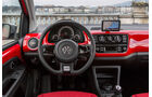 VW Cross Up, Innenraum