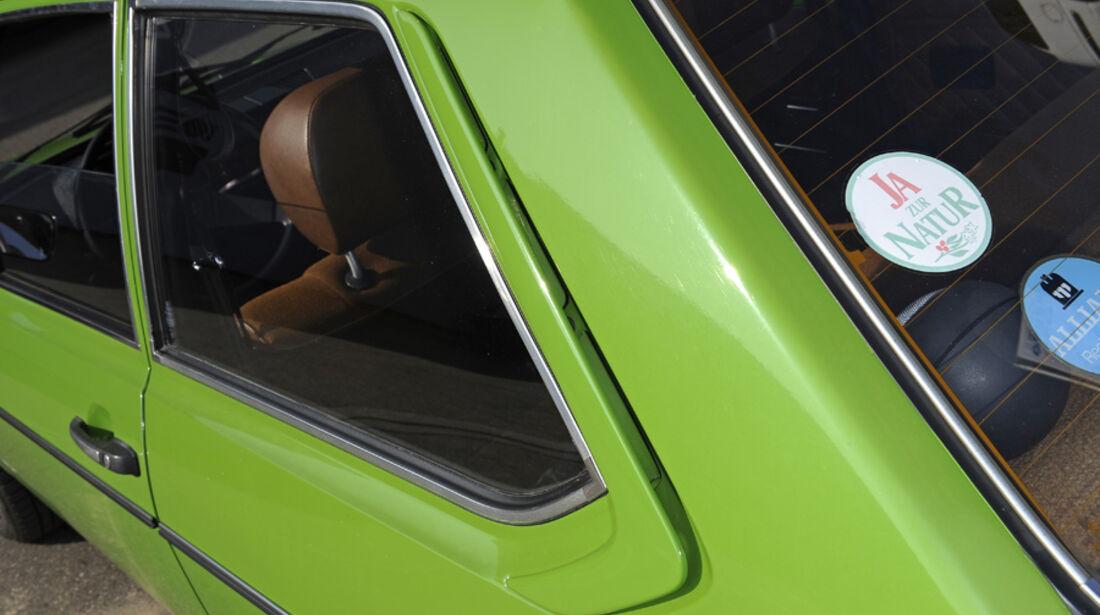 VW Derby, GLS, Seitenscheibe