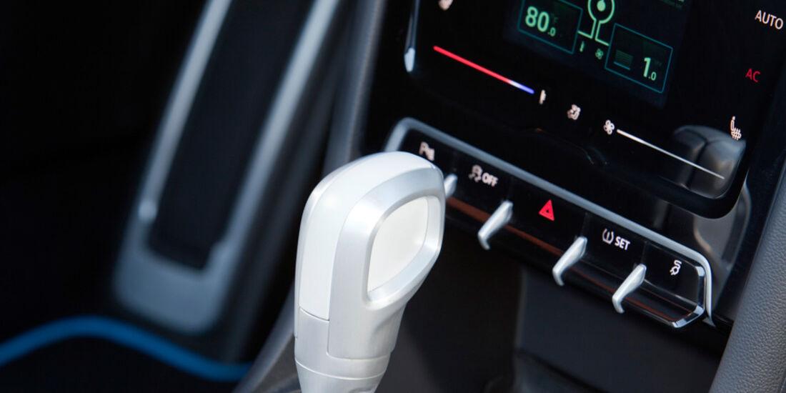 VW E-Bugster, Schalthebel, Schaltknauf